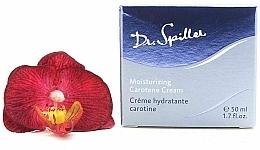 Düfte, Parfümerie und Kosmetik Feuchtigkeitsspendende Gesichtscreme mit Karotin - Dr. Spiller Moisturizing Carotene Cream