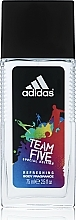 Düfte, Parfümerie und Kosmetik Adidas Team Five - Parfümiertes Körperspray