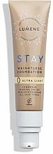 Düfte, Parfümerie und Kosmetik Leichte Foundation mitlerer Deckkraft SPF 30 - Lumene Stay Weightless Foundation Longwear Mineral SPF 30