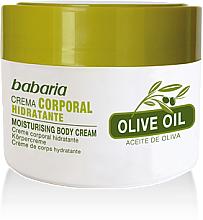 Düfte, Parfümerie und Kosmetik Feuchtigkeitsspendende Körpercreme mit Olivenöl - Babaria Olive Oil Nourishing Body Cream
