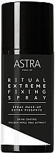 Düfte, Parfümerie und Kosmetik Make-up Fixierspray - Astra Ritual Extreme Fixing Spray Cloud