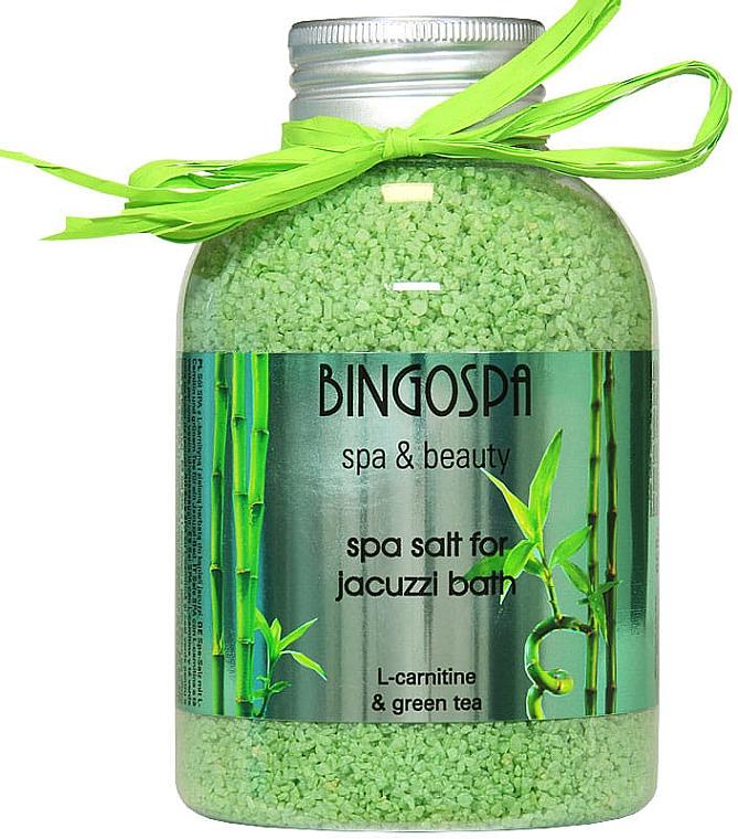 Jacuzzi Milchbad mit grünem Tee - BingoSpa