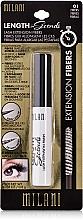 Düfte, Parfümerie und Kosmetik Wimperngel für Falsche-Wimpern-Effekt - Milani Length In Seconds Lash