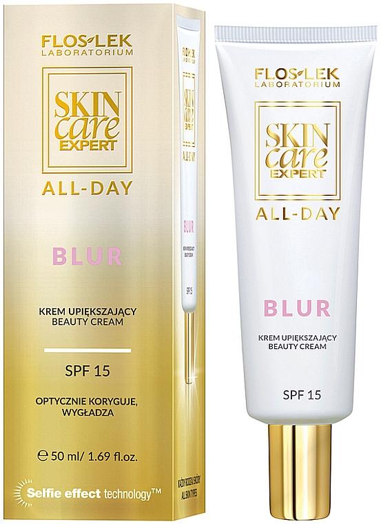 Verschönende Gesichtscreme SPF 15 - Floslek Skin Care Expert All-Day Base Smoothing Cream