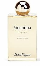 Düfte, Parfümerie und Kosmetik Salvatore Ferragamo Signorina Eleganza - Duschgel