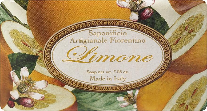 Naturseife Lemon - Saponificio Artigianale Fiorentino Lemon Sinfonia di Agrumi Collection