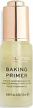 Düfte, Parfümerie und Kosmetik Feuchtigkeitsspendender Gesichtsprimer - Makeup Revolution Baking Primer