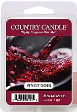 Düfte, Parfümerie und Kosmetik Tart-Duftwachs Pinot Noir - Country Candle Pinot Noir Wax Melts