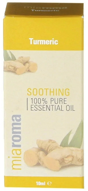 100% Reines ätherisches Kurkumaöl - Holland & Barrett Miaroma Turmeric Pure Essential Oil