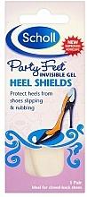 Düfte, Parfümerie und Kosmetik Gel-Senkfußeinlagen mit Fersenschutz für High Heels und Schuhe mit Absätzen - Scholl Party Feet Invisible Gel Shields Back of Heels