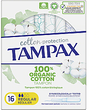 Düfte, Parfümerie und Kosmetik Tampons mit Applikator 16 St. - Tampax Cotton Protection Regular