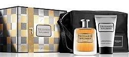 Düfte, Parfümerie und Kosmetik Trussardi Riflesso - Duftset (Eau de Toilette 100ml + Duschgel 100ml + Kosmetiktasche)
