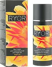 Düfte, Parfümerie und Kosmetik Tagescreme für das Gesicht mit Hyaluronsäure und Arganöl - Ryor Day Cream With Hyaluronic Acid And Argan Oil