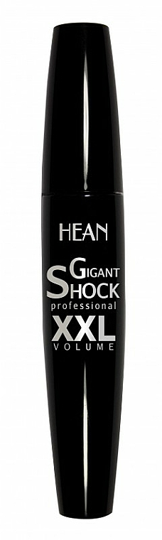 Mascara für voluminöse Wimpern - Hean Gigant Shock Professional XXL Volume