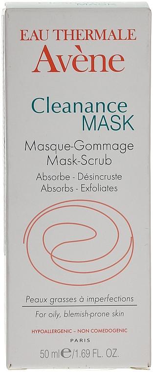 Exfolierende Gesichtsreinigungsmaske für fettige und zu Akne neigende Haut - Avene Exfoliating Absorbing Cleanance Mask-Scrub