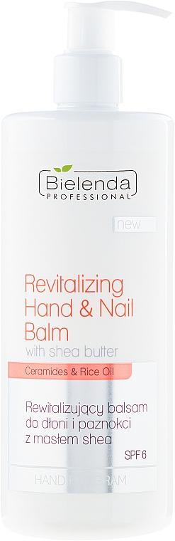 Regenerierender Hand- und Nagelbalsam SPF 6 - Bielenda Professional Hand Program Revitalizing Hand & Nail Balm SPF 6
