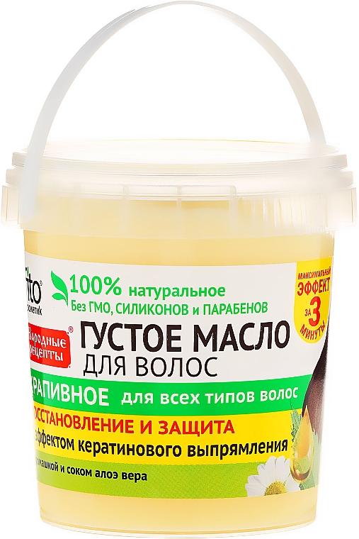 Regenerierende Haarbutter mit Brennnesselextrakt - Fito Kosmetik