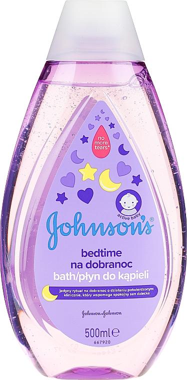 Beruhigendes Schaumbad für Kinder vor dem Schlafen - Johnson's Baby Bath Bedtime