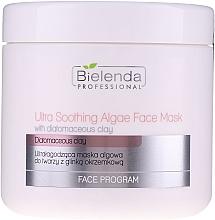 Düfte, Parfümerie und Kosmetik Aufweichende Gesichtsmaske mit Diatomeenerde - Bielenda Professional Ultra Soothing Algae Fase Mask