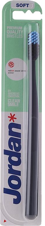 Zahnbürste weich Clean Smile schwarz - Jordan Clean Smile Soft