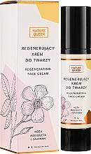Düfte, Parfümerie und Kosmetik Regenerierende Gesichtscreme mit Rosenöl und Safran - Nature Queen