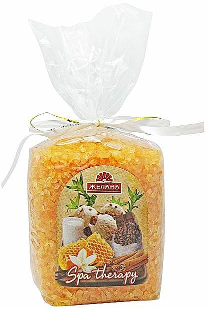 Badesalz Milch mit Honig - Aqua Cosmetics