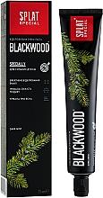 Düfte, Parfümerie und Kosmetik Aufhellende Zahnpasta Blackwood - SPLAT Special