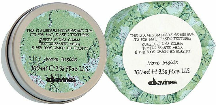 Finishing Gum für elastik Texturen - Davines More Inside Medium Hold Finishing Gum