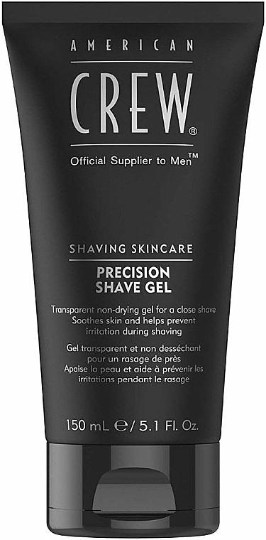 Nicht schäumendes Rasiergel für feinen bis normalen Bartwuchs - American Crew Precision Shave Gel