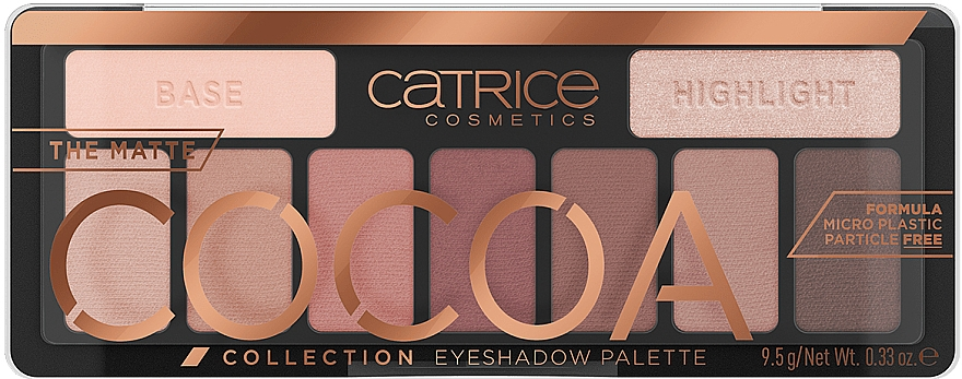 Lidschatten-Palette - Catrice The Matte Cocoa Collection Eyeshadow Palette
