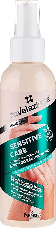 Feuchtigkeitsserum für Hände und Nägel - Farmona Nivelazione Sensitive Care Corneo-Moisturizing Serum For Hand And Nail