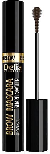 Augenbrauen-Mascara - Delia Shape Master Eyebrow Mascara