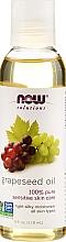 Düfte, Parfümerie und Kosmetik 100% reines Traubenkernöl - Now Foods Solutions Grapeseed Oil
