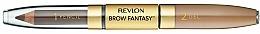 Düfte, Parfümerie und Kosmetik 2in1 Augenbrauenstift und Gel - Revlon Brow Fantasy