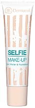 Düfte, Parfümerie und Kosmetik 2in1 Primer und Foundation - Dermacol Selfie Make-up 2-in-1 Primer & Foundation