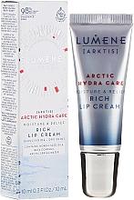 Düfte, Parfümerie und Kosmetik Feuchtigkeitsspendende Lippencreme - Lumene Arctic Hydra Care [Arktis] Rich Lip Cream