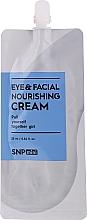 Düfte, Parfümerie und Kosmetik Nährende Gesichts- und Augencreme - SNP Mini Eye & Facial Nourishing Cream (Mini)