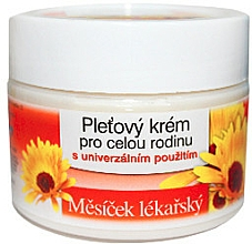 Düfte, Parfümerie und Kosmetik Familiencreme mit Ringblume - Bione Cosmetics Marigold Facial Cream