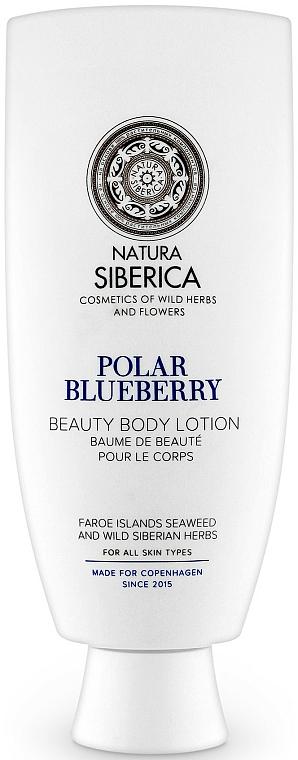 Körperlotion mit Heidelbeeren - Natura Siberica Copenhagen Polar Blueberry Beauty Body Lotion