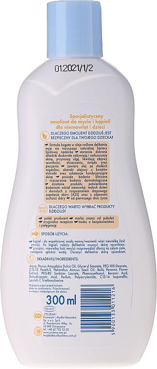 Hypoallergene Badeemulsion für Säuglinge und Kinder - Dzidzius Hydro Oil Bath Emulsion — Bild N2