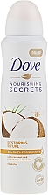 Düfte, Parfümerie und Kosmetik Deospray Antitranspirant - Dove Nourishing Secrets Restoring Ritual