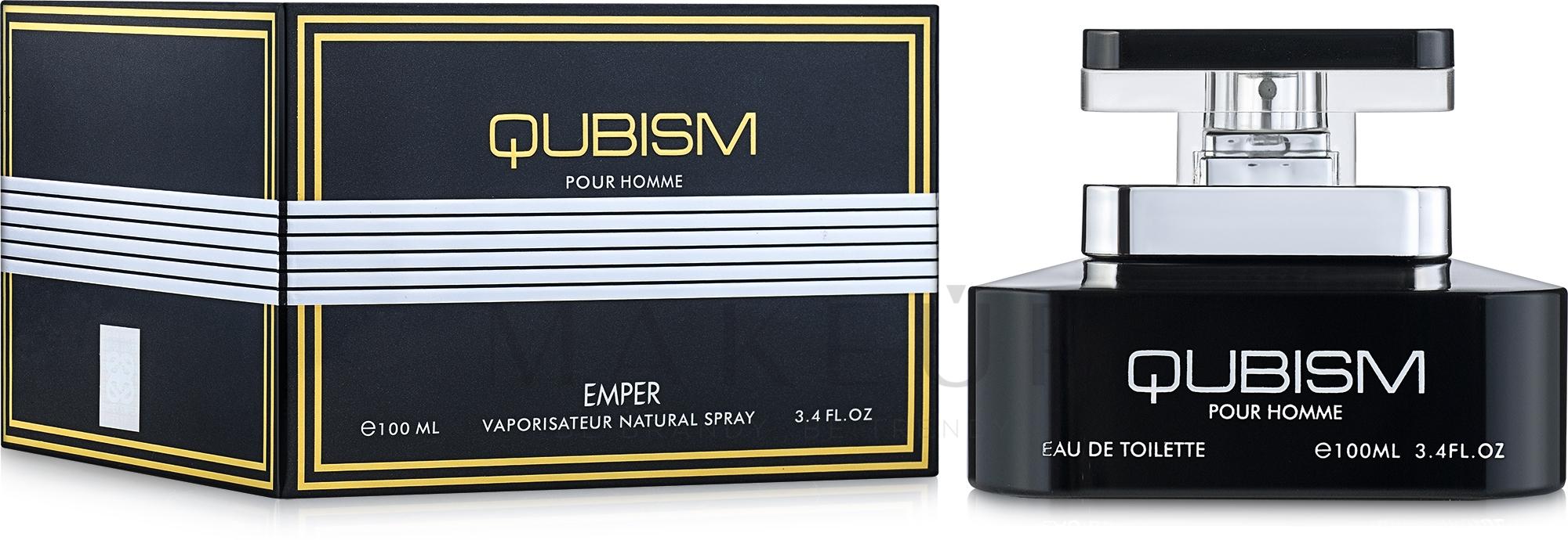 Emper Qubism - Eau de Toilette — Bild 100 ml
