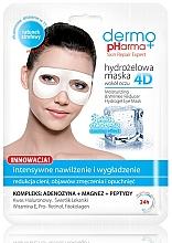 Düfte, Parfümerie und Kosmetik Feuchtigkeitsspendende Augenmaske gegen Falten - Dermo Pharma 4D Moisturizing & Wrinkle Reduct Hydrogel Eye Mask