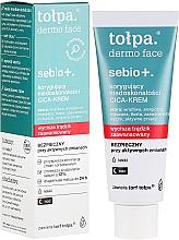 Düfte, Parfümerie und Kosmetik Cica-Creme zur Korrektur von Unvollkommenheiten für die Nacht - Tolpa Sebio+ Cica-Cream