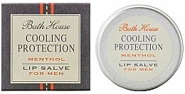 Düfte, Parfümerie und Kosmetik Feuchtigkeitsspendender und schützender Lippenbalsam mit Menthol für Männer - Bath House Cooling Protection Menthol Lip Salve