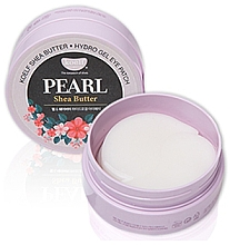 Düfte, Parfümerie und Kosmetik Hydrogel-Augenpatches mit Perlen und Sheabutter - Petitfee & Koelf Pearl & Shea Butter Eye Patch