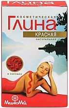 Düfte, Parfümerie und Kosmetik Natürliche rote kosmetische Tonerde für den Körper - MedikoMed