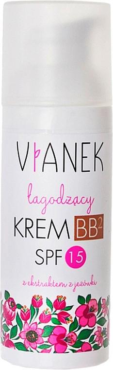 Beruhigende BB Creme LSF 15 - Vianek Soothing BB Cream SPF 15