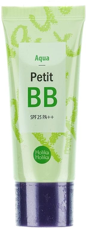 BB Creme mit grünem Tee, Chrysanthemen und Lavendelöl LSF 25 - Holika Holika Aqua Petit BB Cream SPF25