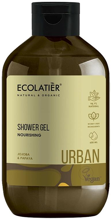 Nährendes Duschgel mit Jojoba und Papaya - Ecolatier Urban Shower Gel